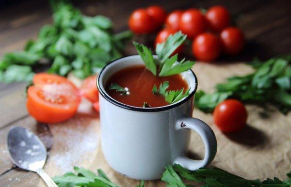 Домашний томатный сок калории