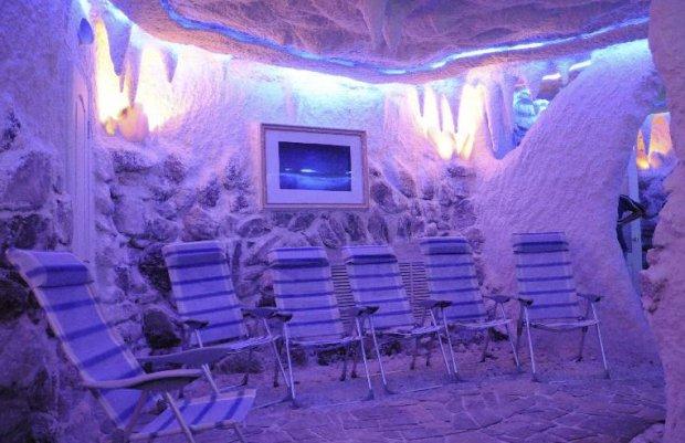 Соляная пещера для домашних условиях 180