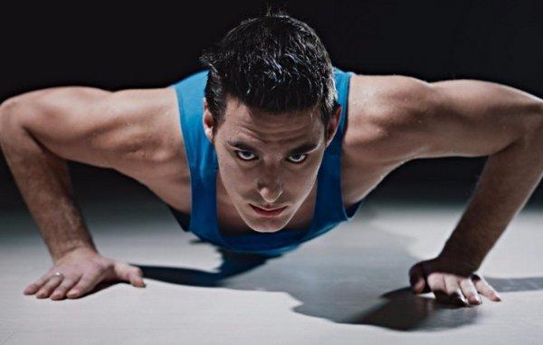 отжимание для похудения мужчин