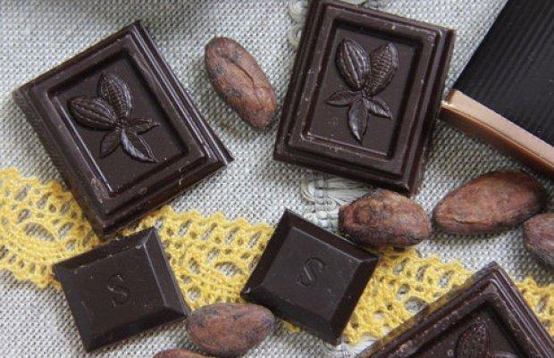 Родить помогает горький шоколад