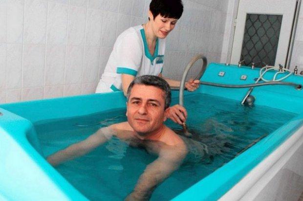 Радонновые ванны для мужчин