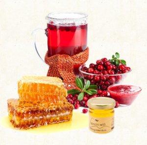 Клюква с мёдом