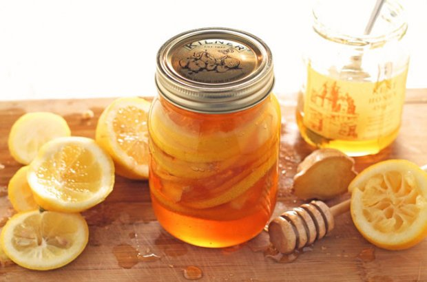 Лимон с мёдом