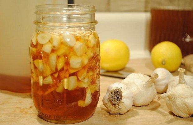 Мёд с чесноком и лимоном