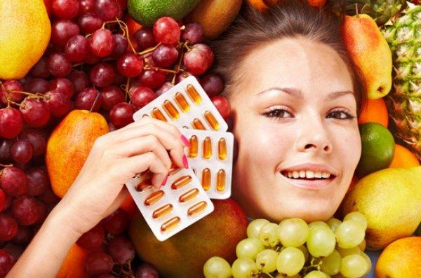 Витамины для женской красоты и здоровья ногтей, кожи и волос