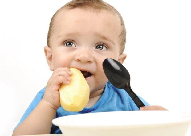 Сырой картофель для детей