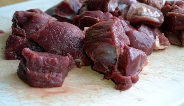 Рецепт мясо косули в вине
