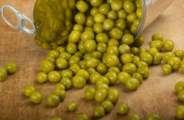 Диабет и консервированный зеленый горошек в