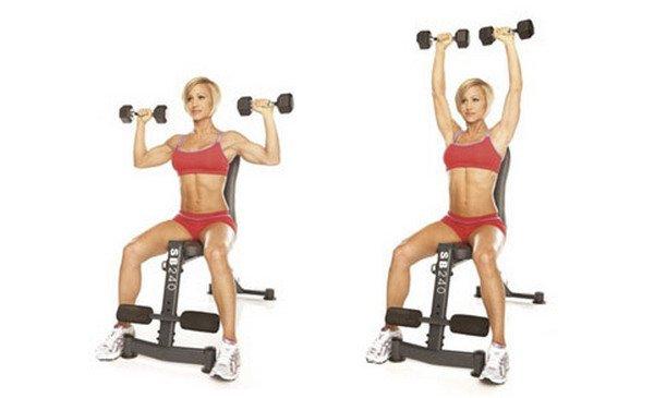 Упражнения качаем ноги и ягодицы 8