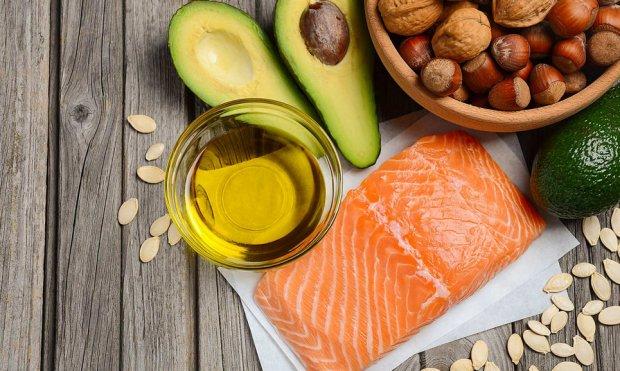 Продукты-источники ненасыщенных жирных кислот Омега 3