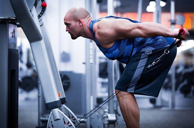Статодинамические упражнения на мышцы