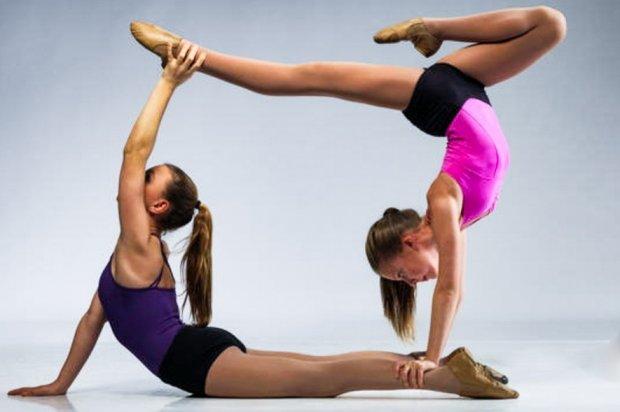 Акробатические занятия