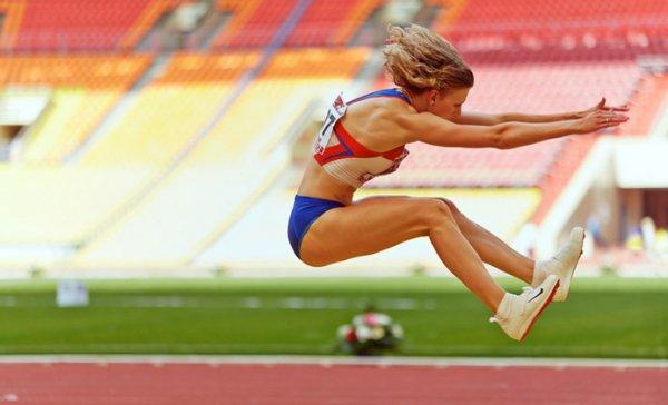 Тренировка прыжка в длину с места