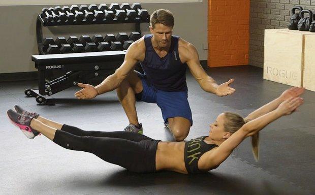 Тренировка hollow position