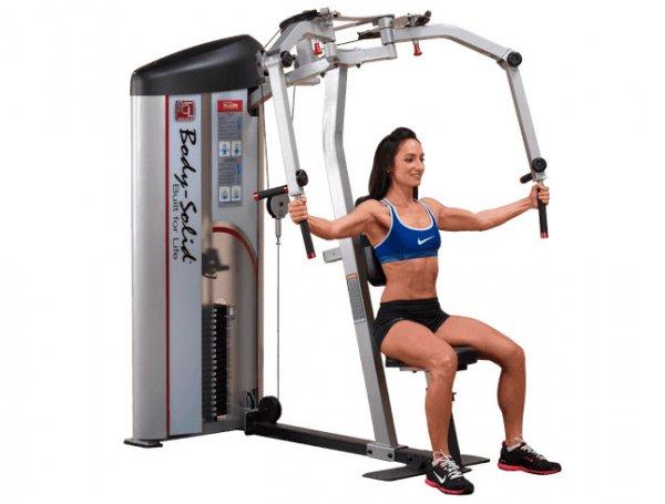 Тренажер бабочка упражнения для поддержания фигуры ног рук груди и пресса