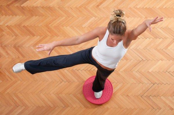 Упражнения для диска здоровья