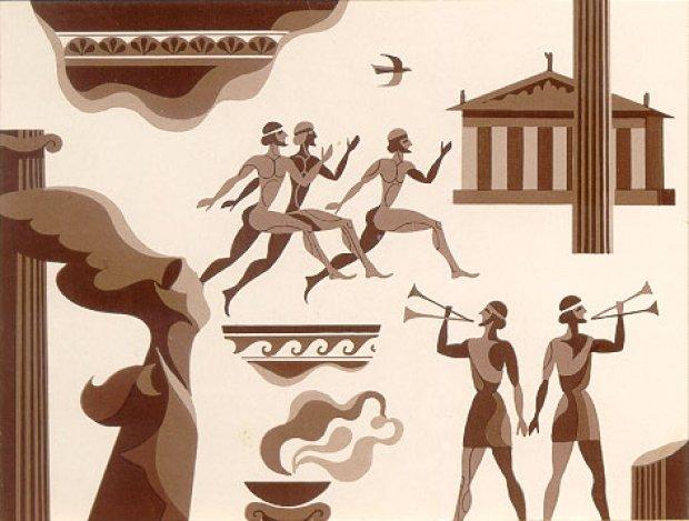 в картинки играх об греции олимпийских