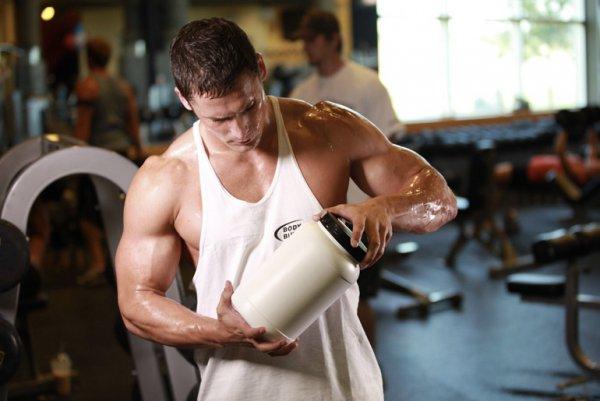 Спортивное питание для быстрого роста мышечной массы