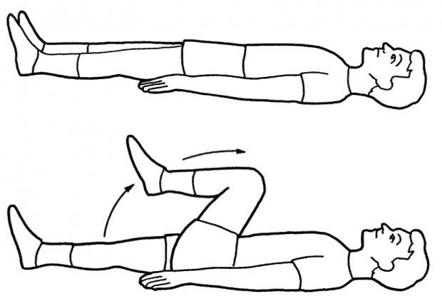 Упражнение при варикозе