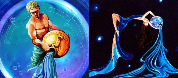 Картинки мужчины водолея и женщины