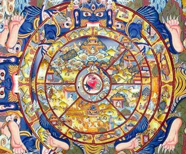 Колесо Сансары - вечный круг перерождений 6589.oxngfo.620
