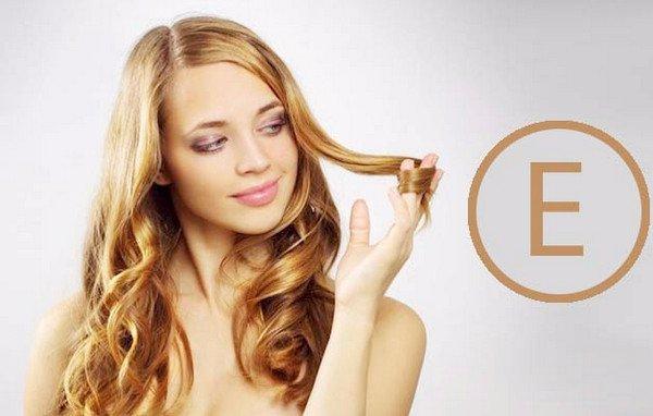 Витамин а и витамин е для волос